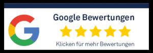 5 Sterne Bewertung bei Google